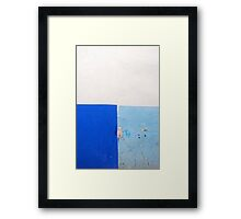 Wall Abstract - 1 Framed Print