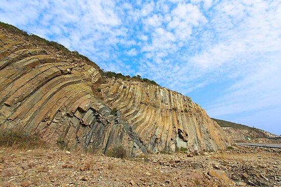 Rocks landscape in Hong Kong Geo Park by kawing921