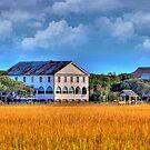 Historic Pelican Hotel At Pawleys Island by Kathy Baccari