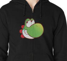 Yoshi's on a T-shirt Zipped Hoodie