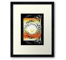 Anatman: no permanent substance Framed Print