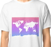 World map energy Classic T-Shirt