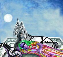 Unicorn and The Sleeping Robot by alisontsoi