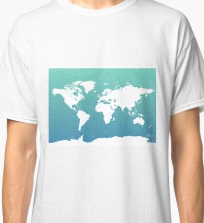 World map i water Classic T-Shirt