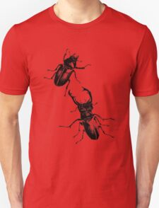 Stag beetles Unisex T-Shirt