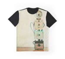 Tower of Cameras Graphic T-Shirt