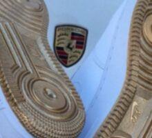 Nike Air Force 1 Blue and Gold - Lamborghini  Sticker