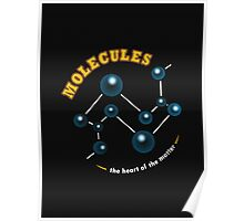 Molecules: The Heart of the Matter Poster