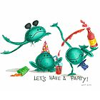 frogs party by laurina