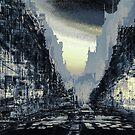 Parisian Mosaic - Piece 24 - Rue de Rivoli by Igor Shrayer