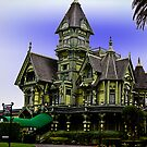 The Carson Mansion, Eureka California by Bryan D. Spellman