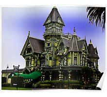 The Carson Mansion, Eureka California Poster