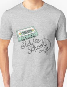 Old School is Old Cool Unisex T-Shirt