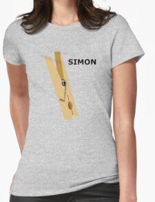 Simon Peg Womens Fitted T-Shirt