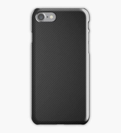 Carbon Fibre minus logo iPhone Case/Skin