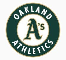 Oakland Athletics by Baralone