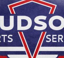 Retro Hudson Automobile Reproduction t-shirt Sticker