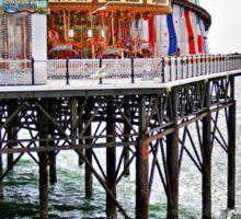 Brighton pier Sticker