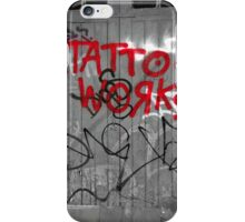 Tattoo workshop iPhone Case/Skin