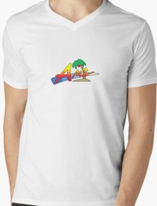 Kings of the Arcade Mens V-Neck T-Shirt