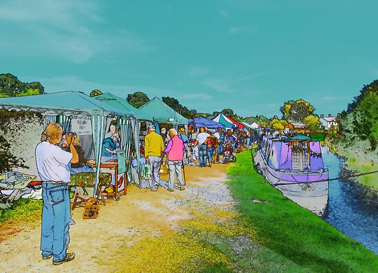 Festival Stalls. by relayer51
