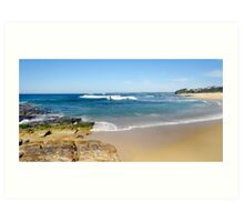South Coast Sojourn. Art Print