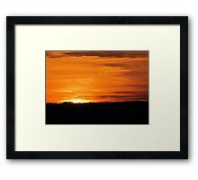 Unlimited freedom Framed Print