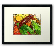 Abstract Abbondanza! Framed Print