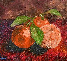 Citrus Tangerine by Luxoart