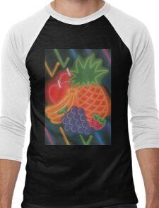 Neon Fruit Men's Baseball ¾ T-Shirt
