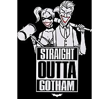 Straight outta Gotham Photographic Print