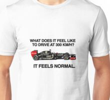 On Driving at 300Km/h Unisex T-Shirt