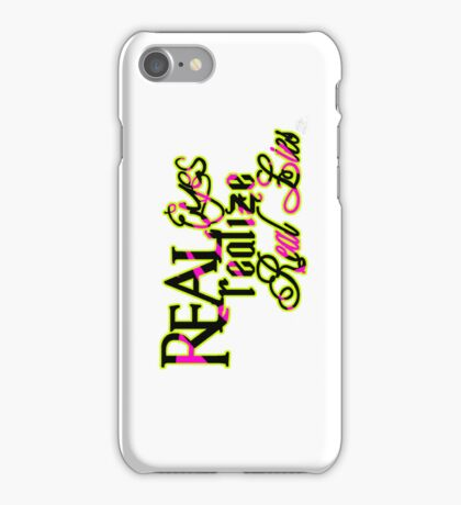 r3alize. iPhone Case/Skin