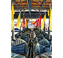Dodgems Photographic Print