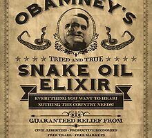 Obamney's Tried and True Snake Oil Elixir by M Dean Jones