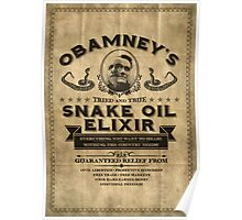 Obamney's Tried and True Snake Oil Elixir Poster