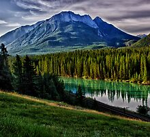 Bow River by Kathy Weaver