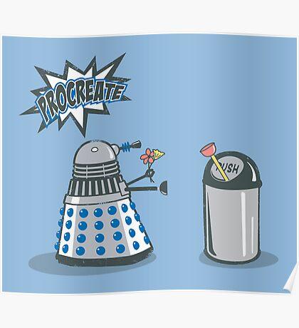 Dalek Crush Poster