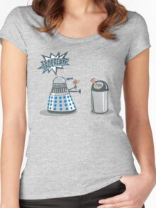 Dalek Crush Women's Fitted Scoop T-Shirt
