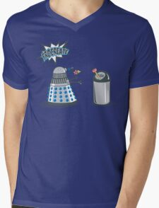 Dalek Crush Mens V-Neck T-Shirt