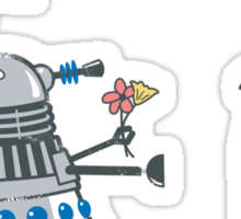 Dalek Crush Sticker