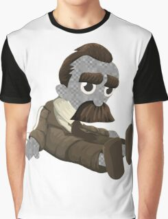 Weird doll with mustache Graphic T-Shirt