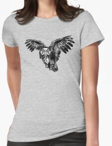 Skeletowl BW T-Shirt