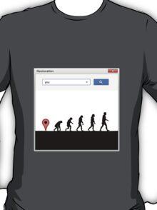 99 steps of progress - Geolocation T-Shirt
