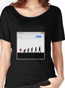 99 steps of progress - Geolocation Women's Relaxed Fit T-Shirt