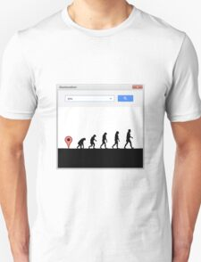 99 steps of progress - Geolocation T-Shirt