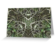 Wicca woodland Greeting Card