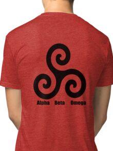 Triskele - Alpha, Beta, Omega Tri-blend T-Shirt
