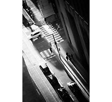 White Car Photographic Print