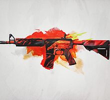 CS:GO M4A4 Howl by LexyLady